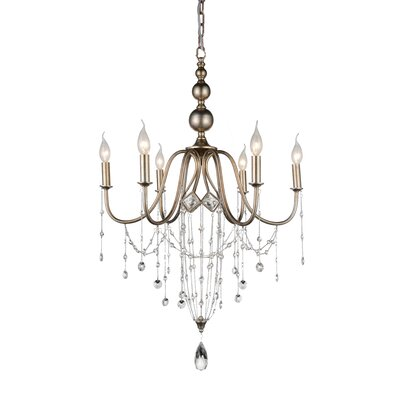 Pembina 6-Light Candle-Style Chandelier