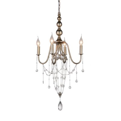 Pembina 4-Light Candle-Style Chandelier