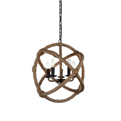 Catharine 5-Light Foyer Pendant