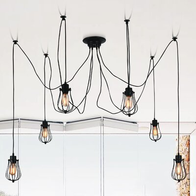 Tomaso 6-Light Cascade Pendant