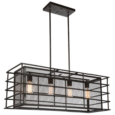 Darya 4-Light Kitchen Island Pendant