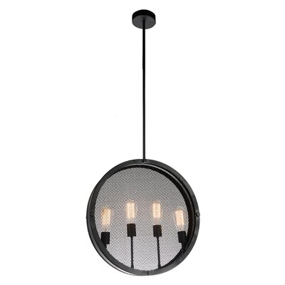 Tigris 4-Light Foyer Pendant