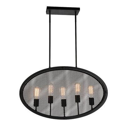 Tigris 5-Light Foyer Pendant