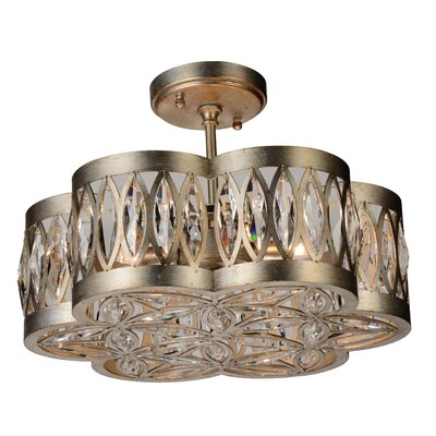 Nova 6-Light Semi Flush Mount