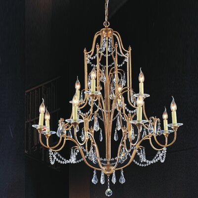 Electra 12-Light Candle-Style Chandelier