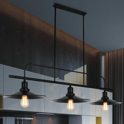 Brave 3-Light Kitchen Island Pendant