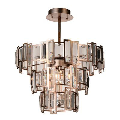 Quida 5-Light Geometric Pendant