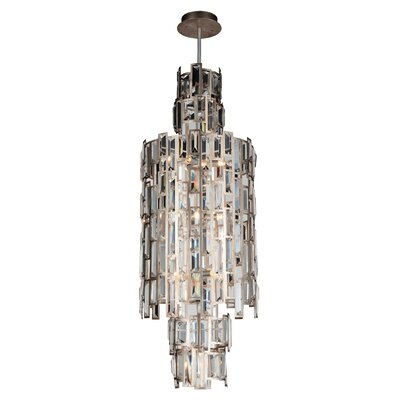 Quida 10-Light Geometric Pendant
