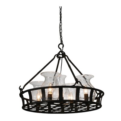 Eliza 5-Light Shaded Chandelier