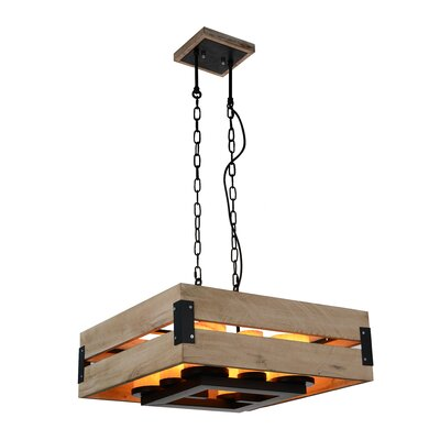 Verda 8-Light LED Foyer Pendant