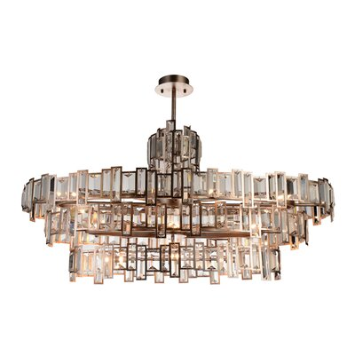 Quida 21-Light Crystal Chandelier