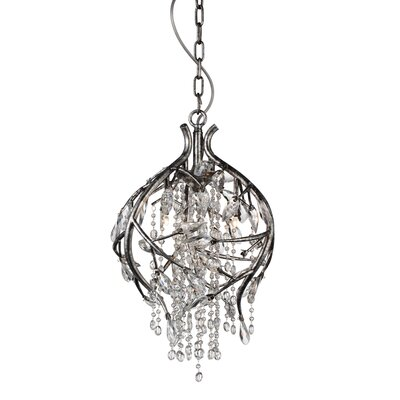 Hal 3-Light Crystal Pendant