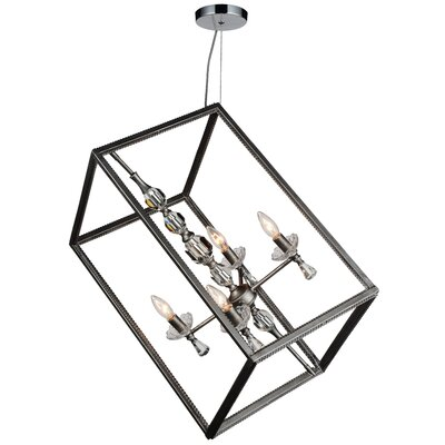 Tapi 4-Light Geometric Pendant