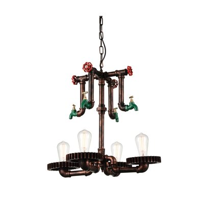 Soto 4-Light Candle-Style Chandelier