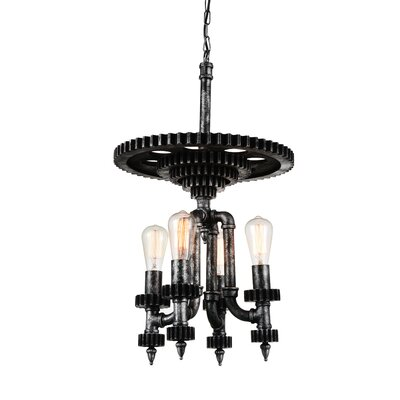 Soto 4-Light Mini Chandelier
