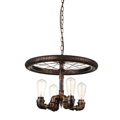 Union 4-Light Candle-Style Chandelier