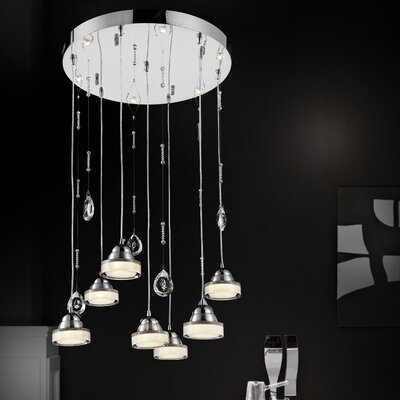 Mariann 13-Light LED Cascade Pendant
