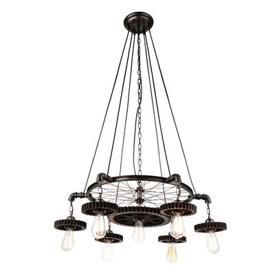 Prado 7-Light Candle-Style Chandelier