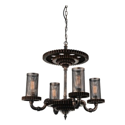 Shea 4-Light Candle-Style Chandelier