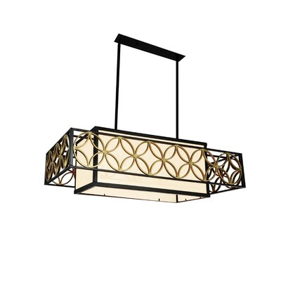 Eva 4-Light Kitchen Island Pendant