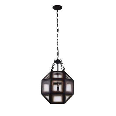 Dvina 3-Light LED Geometric Pendant