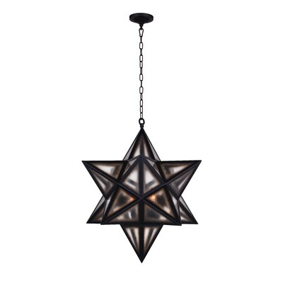 Astoria 3-Light LED Geometric Pendant
