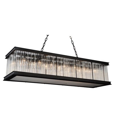 Mira 14-Light Kitchen Island Pendant