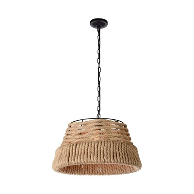 Catharine 1-Light Bowl Pendant