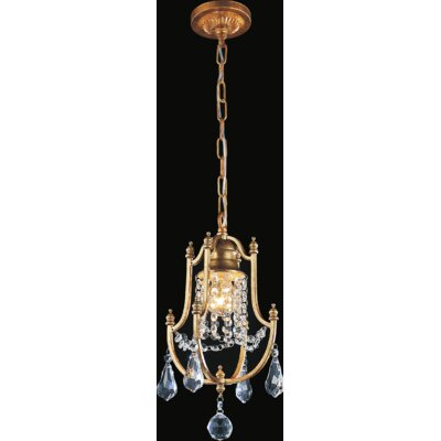 Electra 1-Light Crystal Pendant