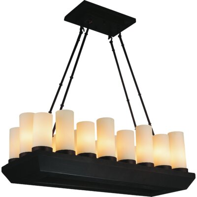 Danielle 18-Light Kitchen Island Pendant