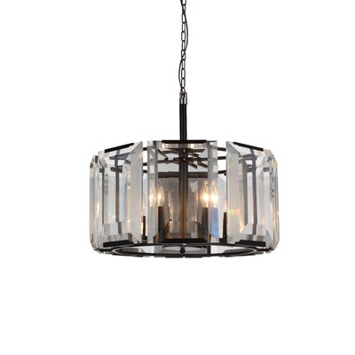 Jacquet 8-Light Drum Pendant