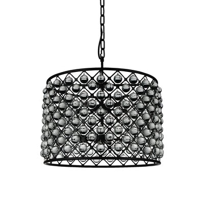 Barker 10-Light Drum Pendant