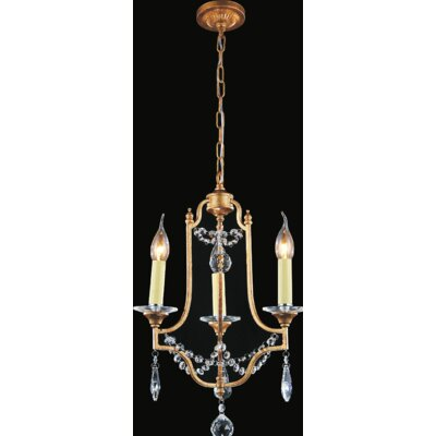 Electra 3-Light Candle-Style Chandelier