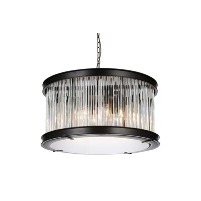 Mira 6-Light Drum Pendant