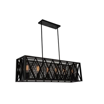 Tapedia 6-Light Kitchen Island Pendant