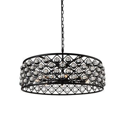 Barker 8-Light Drum Pendant