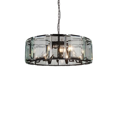 Jacquet 12-Light Drum Pendant