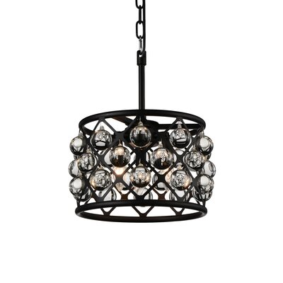 Barker 3-Light Drum Pendant