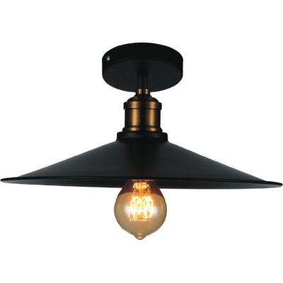 Brave 1-Light Semi Flush Mount