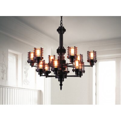 Norma 12-Light Chandelier