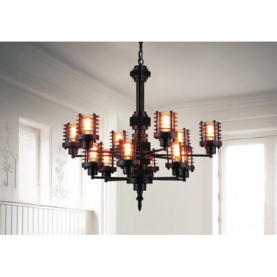 Norma 12-Light Pendant