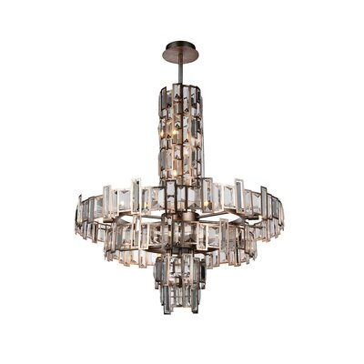 Quida 18-Light Crystal Chandelier