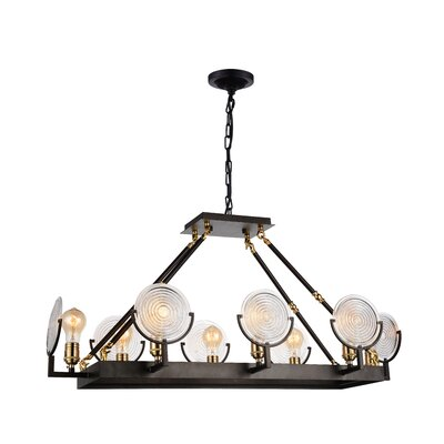 Bhima 8-Light LED Design Pendant