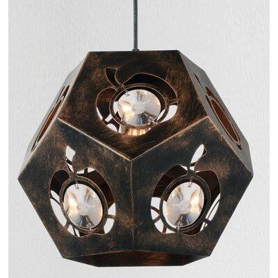 Sasha 1-Light Geometric Pendant