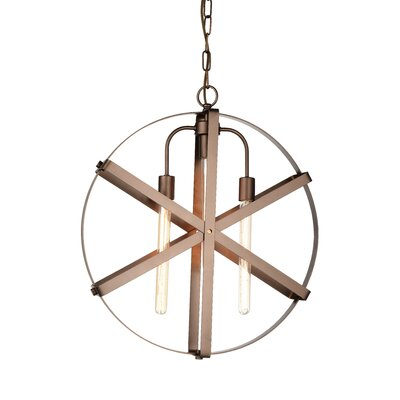 Tessa 1-Light Geometric Pendant