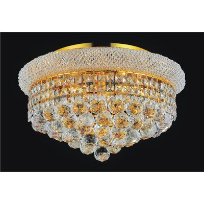 5-Light Empire Flush Mount