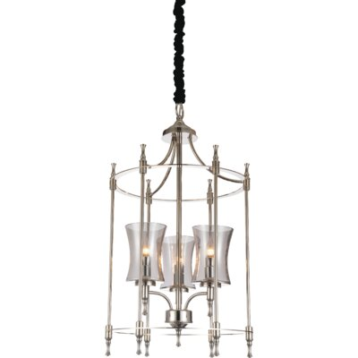 London 3-Light Foyer Pendant Finish: Chrome