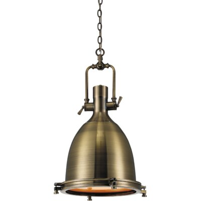 Show 1-Light Inverted Pendant Finish: Satin Nickel