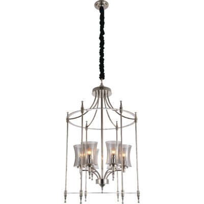 London 6-Light Foyer Pendant Finish: Chrome
