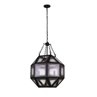 Dvina 4-Light LED Geometric Pendant